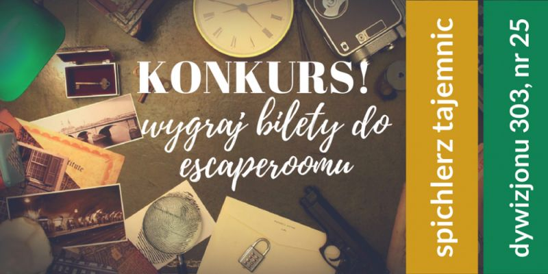 KONKURS! Wygraj voucher do escaperoomu!