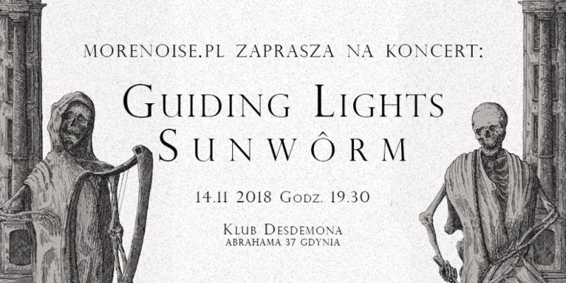Koncert: Guiding Lights i Sunwôrm